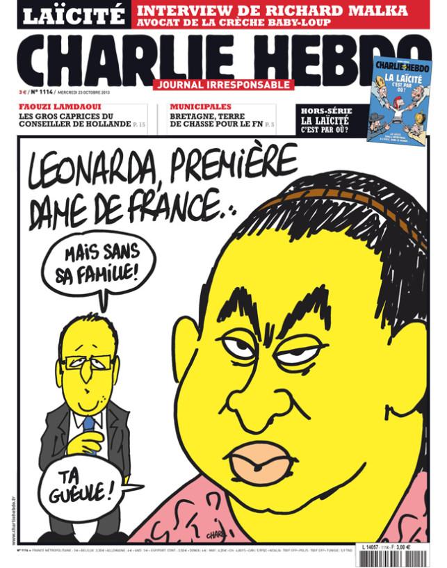 Leonardo, permière dame de France...