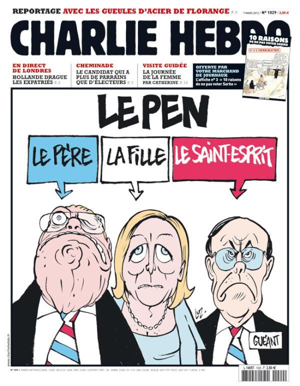 Le Pen, Le père, La fille, Le saint-esprit
