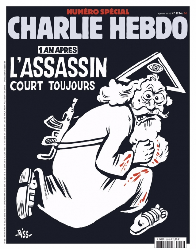 Charlie Hebdo, cover of #1224