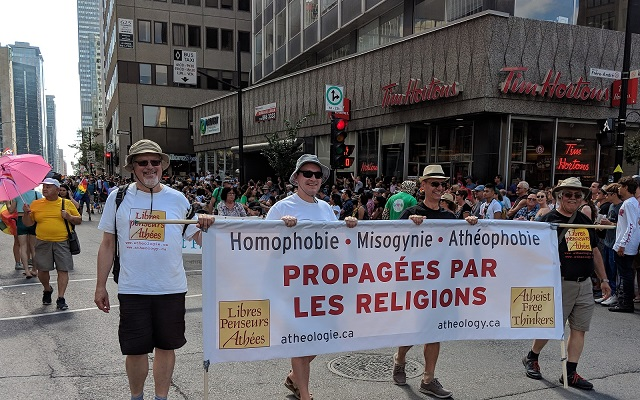 AFT at the Montreal LGBT Pride Parade 2018