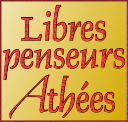 Libres penseurs athées LPA, our French-language website